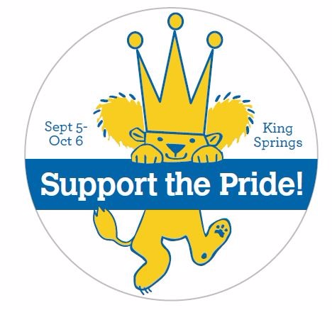 Lion support the pride